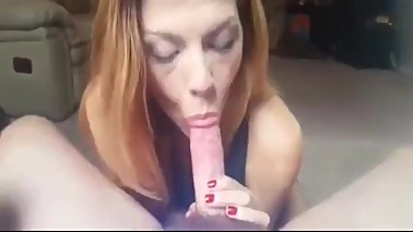 Drunk blowjob from mom