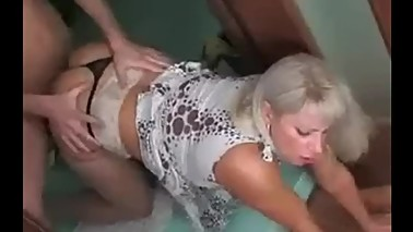 Mature Old Mom Fucked First Time by Young Man