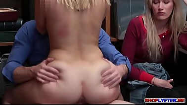 Teen Sierra gave her pussy for moms freedom