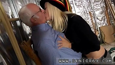Monique woods old and old man young girl swallow At that moment Jim