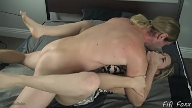 Stepguy Makes Mom Fuck Him Against Her Will - Fifi Foxx and Cock Ninja