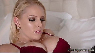 Milf with big naturals fucking and companion'_ playmate'_s daughter