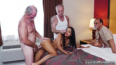 Old men licking pussy and old mom young cock Staycation with a Latin