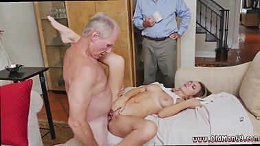 Old man fucks mom and friend's daughter and old moms fuck guys friend hd
