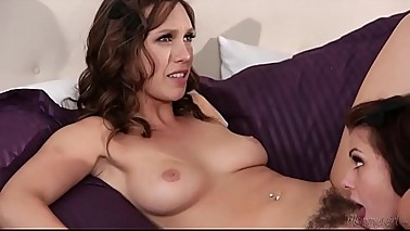 Dominant stepmom fucks her daughters - Dana DeArmond, Jade Nile, Adriana Chechik