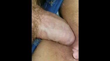 Late night fucking my girl with mom in next room
