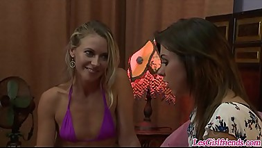 Lesbian Stepmom Lena Nicole Teaching Teen Tara Morgan