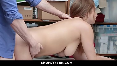 Shoplyfter - Teen Fucked By Security Guard While Mom Watches