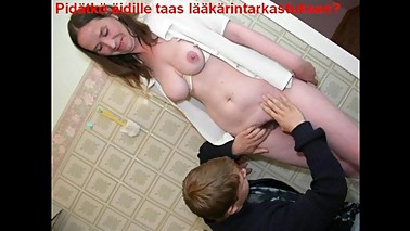Slideshow with Finnish Captions: Russian Mom Anja 1