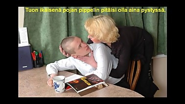 Slideshow with Finnish Captions: Russian Mom Alice 3