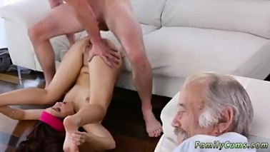 Grace friend's daughter anal threesome mom and glasses