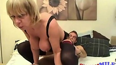 UK MILF and Young Guy