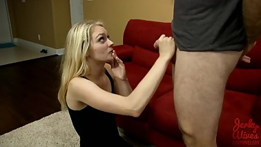 Alli Rae - Mom Helps Step-guy With Release Problems - Jerky Wives