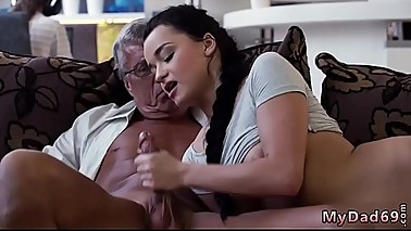 Old mom enjoys and teach me sex daddy What would you choose -